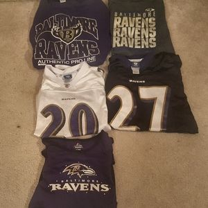 Baltimore Ravens Mixed Size Clothing Bundle
